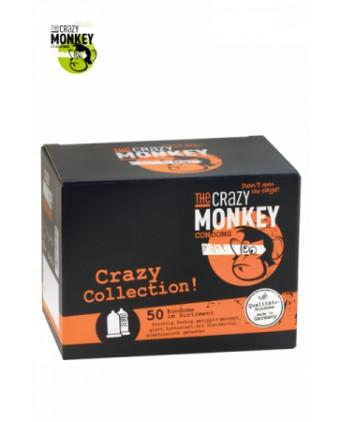 Assortiment 50 Préservatifs Crazy Monkey - Préservatifs
