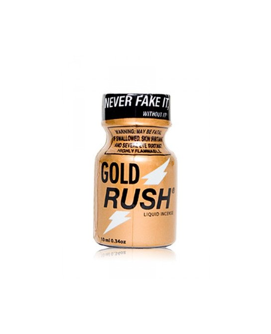 Poppers Gold Rush 10 ml - Poppers