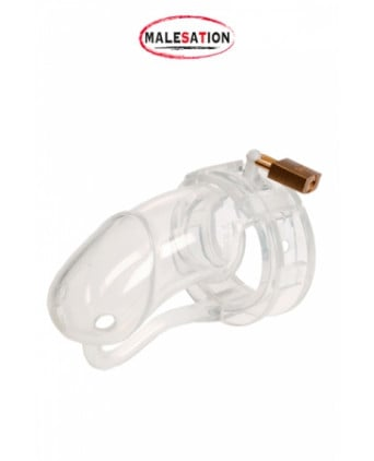 Cage de chasteté Silicone (large)  - Attaches, contraintes