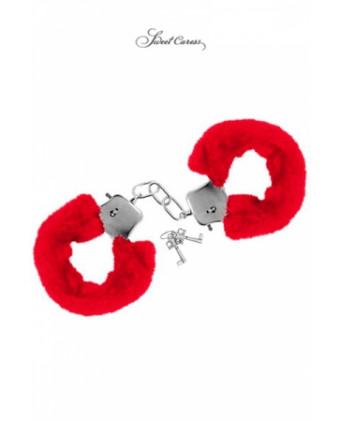 Menottes de poignets rouge - Menottes et bracelets