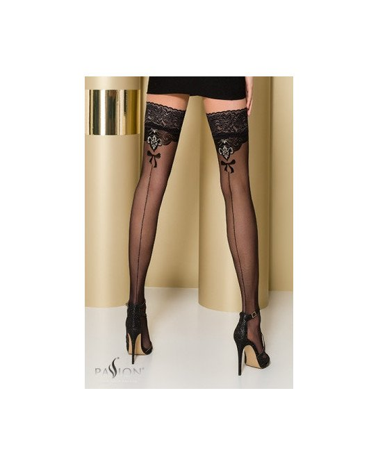 Bas autofixants ST103 Noir - Collants, bas