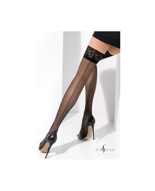 Bas autofixants ST022 Noir - Collants, bas