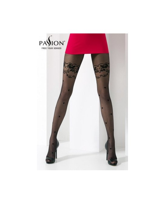 Collant TI027 Noir - Collants, bas