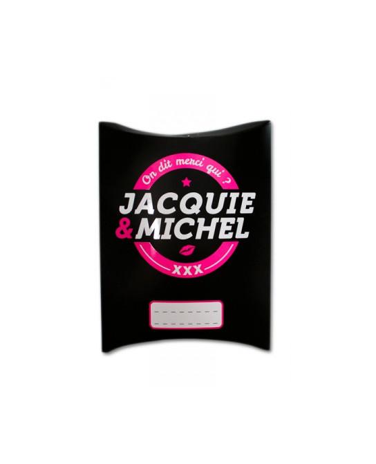Boite cadeau Jacquie et Michel  - Sacs