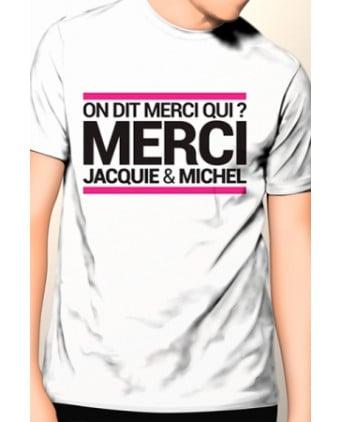 T-shirt Jacquie et Michel n°9 - blanc - T-shirts Homme