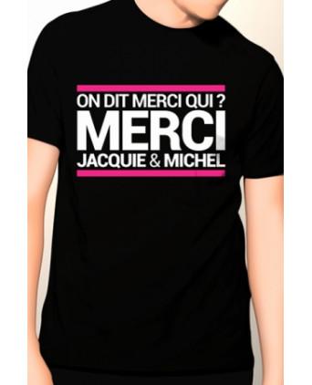 T-shirt Jacquie et Michel n°10 - noir - T-shirts Homme