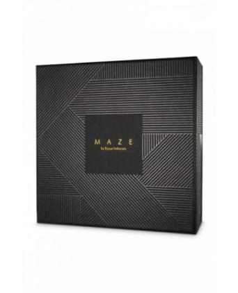 Porte-jarretelles noir - Maze - Fetish et Glamour