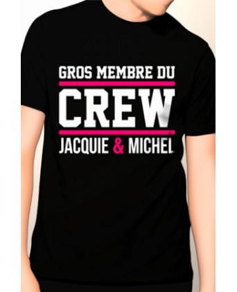 Tee-shirt Jacquie et Michel Gros membre - noir - T-shirts Homme