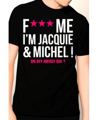 Tee-shirt Jacquie et Michel Fuck Me - noir - T-shirts Homme