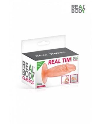 Plug anal réaliste 11 cm - Real Tim - Plugs, anus pickets