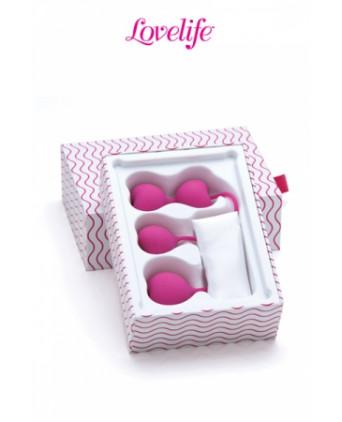 Coffret 3 boules de Kegel Flex - Boules de Geisha