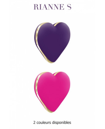 Stimulateur Heart Vibe - Canards, Vibros Funs
