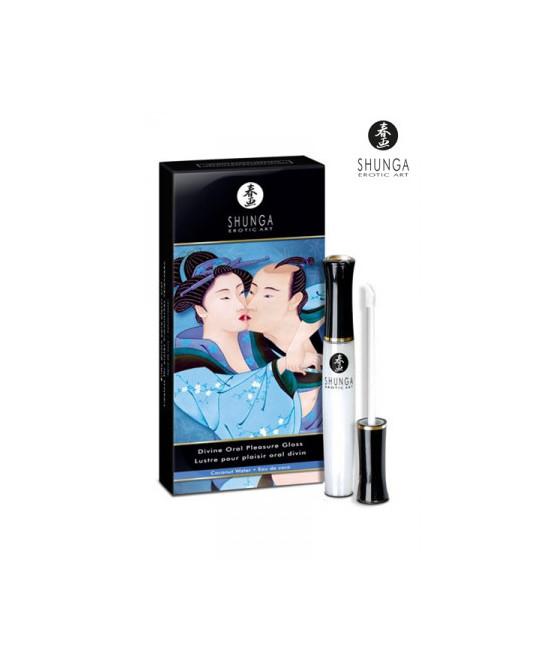 Gloss divin plaisir oral eau de coco - Aphrodisiaques couple