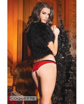 Culotte ouverte Santa - Déguisements femme