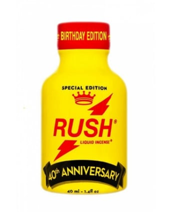 Poppers Rush Anniversary 40ml - Poppers