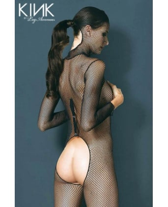 Combinaison résille Hooded Fishnet - Combinaisons