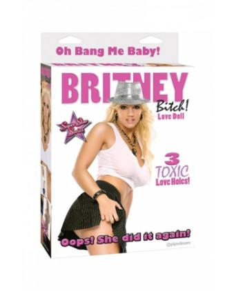 Poupée gonflable Britney  - Poupée gonflable