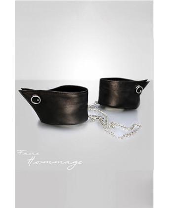 Menottes Manchettes - Faire Hommage - Menottes et bracelets BDSM