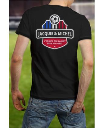 Tee-shirt Jacquie et Michel Football - noir - T-shirts Homme