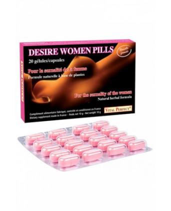 Desire Women pills x 20 - nouvelle formule - Aphrodisiaques femme