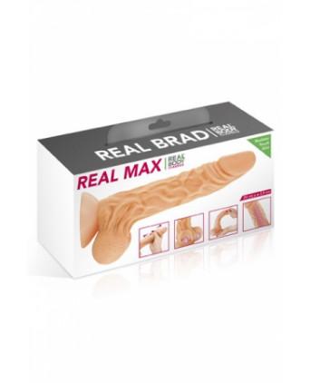 Gode ultra-réaliste 24 cm - Real max - Godes réalistes