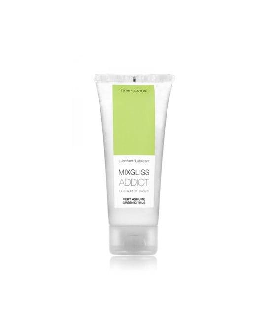 Mixgliss eau - Addict Vert agrume 70ml - Lubrifiants base eau