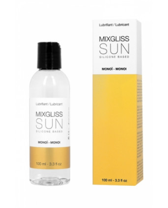 Mixgliss silicone - Sun Monoi 100ml - Lubrifiants silicone