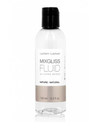 Mixgliss silicone - Fluid Nature 100ml - Lubrifiants silicone