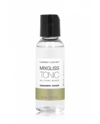 Mixgliss silicone - Tonic Gingembre 50ml - Lubrifiants silicone