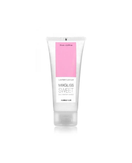 Mixgliss eau - Sweet Bubble Gum 70ml - Lubrifiants base eau