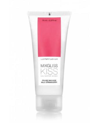Mixgliss eau - Kiss fraise sauvage 70ml - Lubrifiants base eau