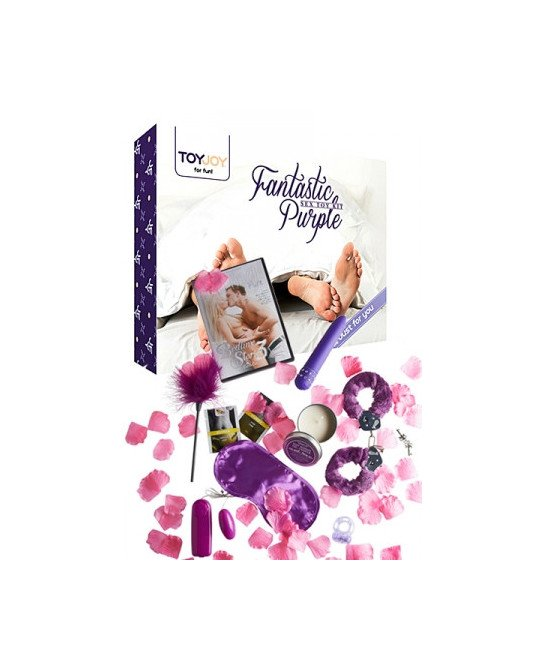 Fantastic Purple - sex toy kit - Coffrets sextoys