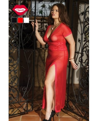 Robe longue Addictive - Grande taille - Nuisettes sexy