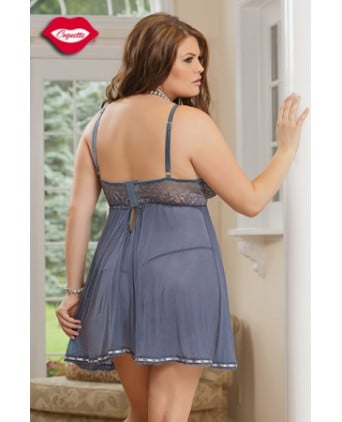 Nuisette romantique Mystic - Grande taille - Nuisettes sexy