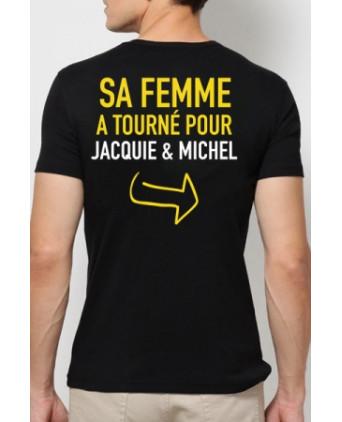 Tee-shirt Jacquie et Michel Provoc - noir - T-shirts Homme
