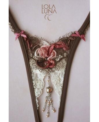 String ouvert Montecarlo - Dessous Sexy