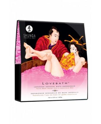 Sels de bain Lovebath - Shunga - Massages érotiques