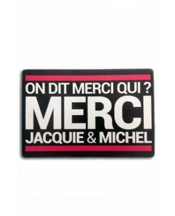 Tapis de souris Jacquie et Michel - Goodies J&M