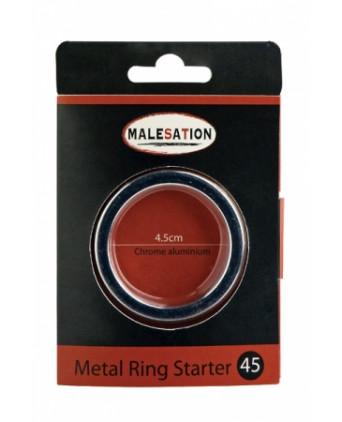 Cockring Metal Ring Starter - Malesation - Anneaux péniens