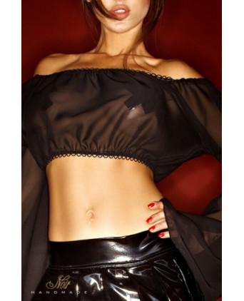 Top Bad Greta - Lingerie vinyle femme