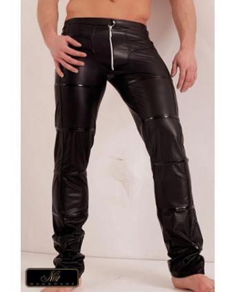 Pantalon zippé Groove - Lingerie vinyle homme