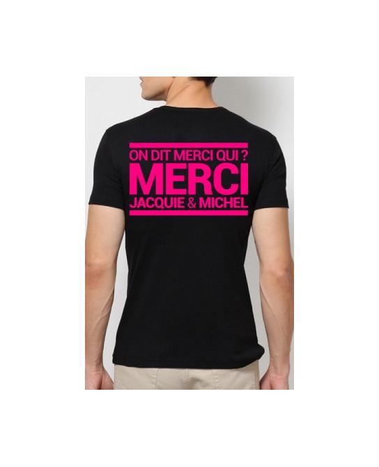 T-shirt Jacquie & Michel Rose fluo - T-Shirts J&M
