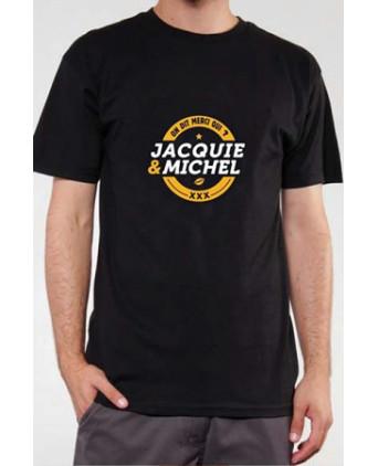 T-shirt Jacquie et Michel n°3 - noir - T-shirts Homme