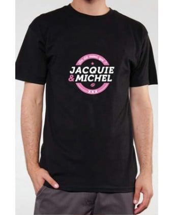 T-shirt Jacquie et Michel n°4 - noir - T-shirts Homme