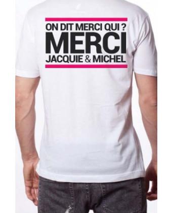 T-shirt Jacquie et Michel n°6 - blanc - T-shirts Homme
