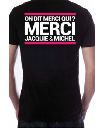 T-shirt Jacquie et Michel n°7 - noir - T-shirts Homme