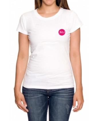 Tee-shirt J&M blanc - spécial femme - T-Shirts J&M