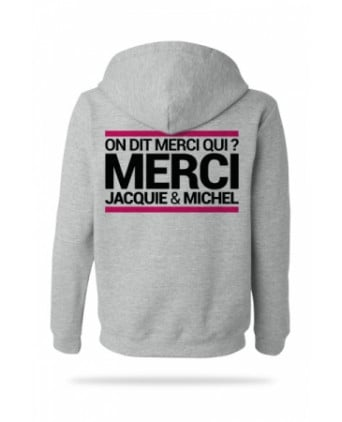 Sweat-shirt Capuche J&M gris - Sweats J&M