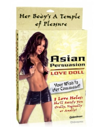 Asian Fever Love Doll - Poupée gonflable