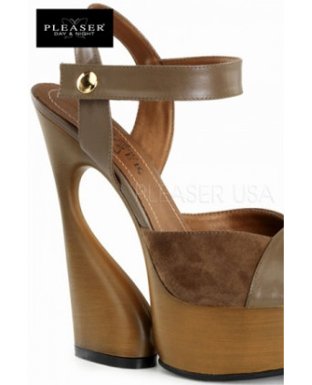 Sandales compensées Swan - Chausssures sexy